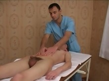 Stroked By Masseuse