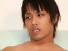 16 photos of hot and hung Japanese stud Naoto exercising his cock