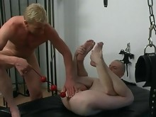 Two asses for this master to punish and abuse