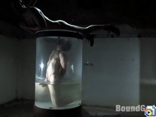 CJ Madison submerges Dante in water, and later fucks him.