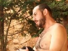 Bear Special - Hairy guys fucking outdoors