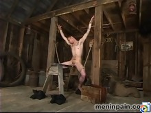 Mika takes Richie by the balls, shows him how to be a good slave